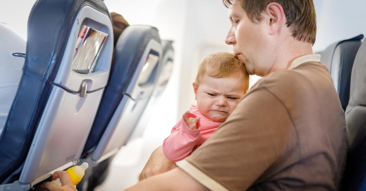 ¿Qué tal te caería subirte a un avión sin niñxs?