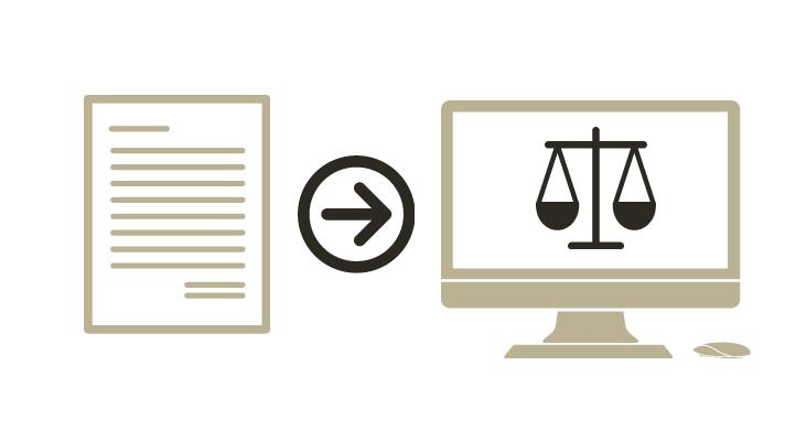 Modelo de escrito para hacer realidad la justicia digital